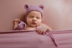 Elsie's Newborn Photography Shoot in Rugby 2910