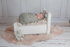 Elsie's Newborn Photography Shoot in Rugby 2940