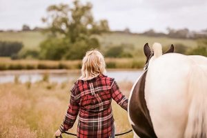 Nicola and Violet Horse Photographer - Emma Lowe Photography in Rugby