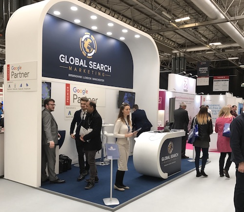 IRX Stand - Global Search Marketing 500 Commercial Photographer