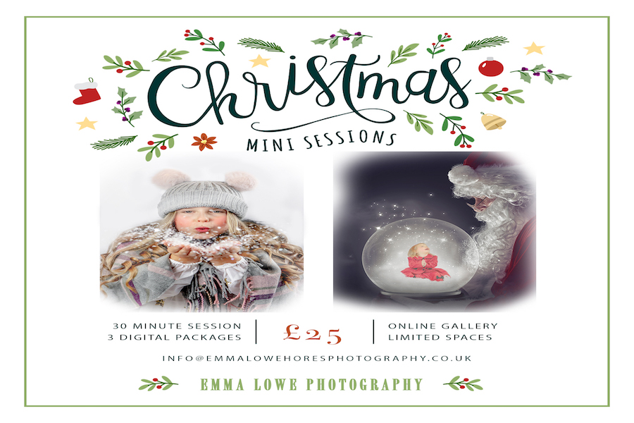 Emma Lowe Photography Christmas Mini Sessions 2019