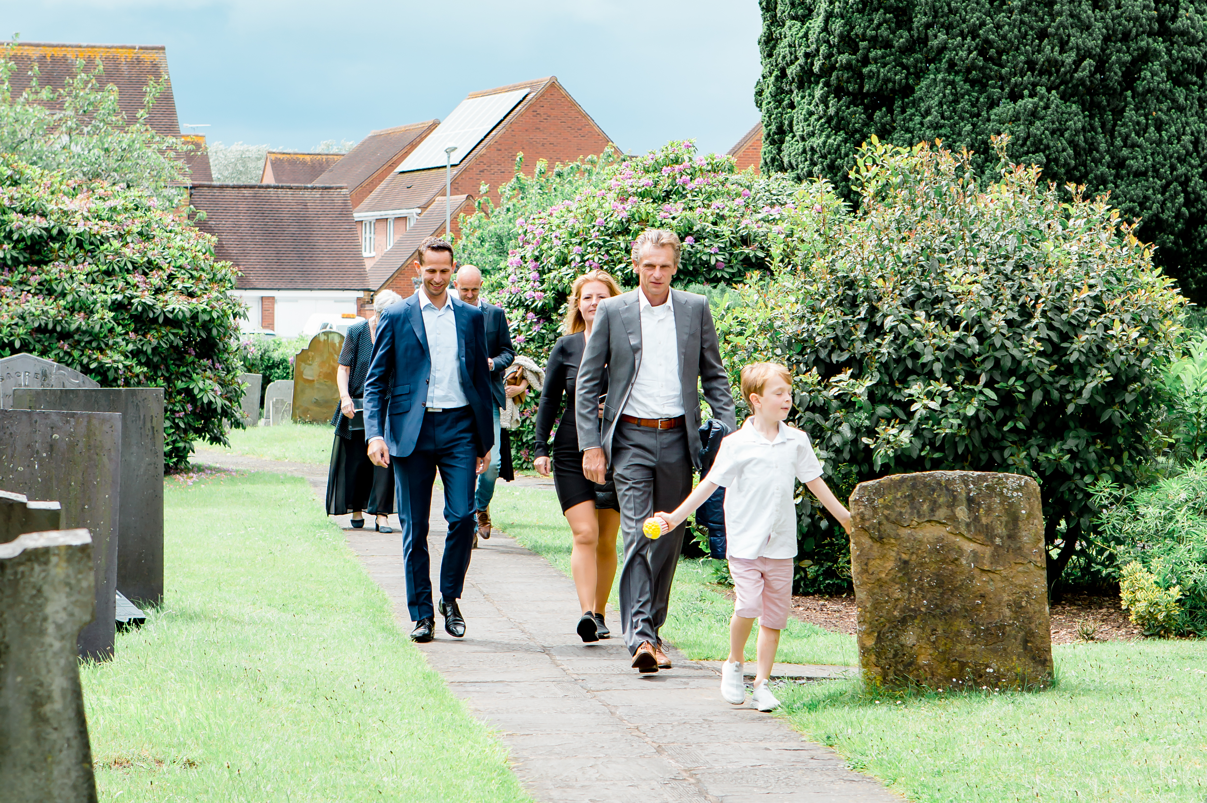 Wedding Photography in Rugby - Guests