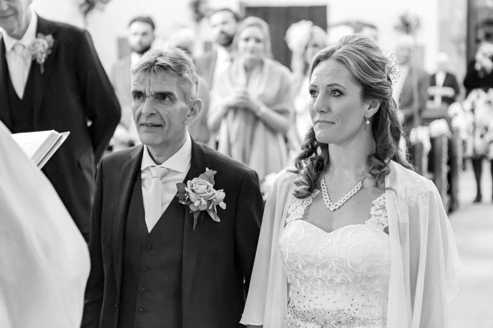 Anne & Nick Wedding Church - Rugby - Emma Lowe Photography