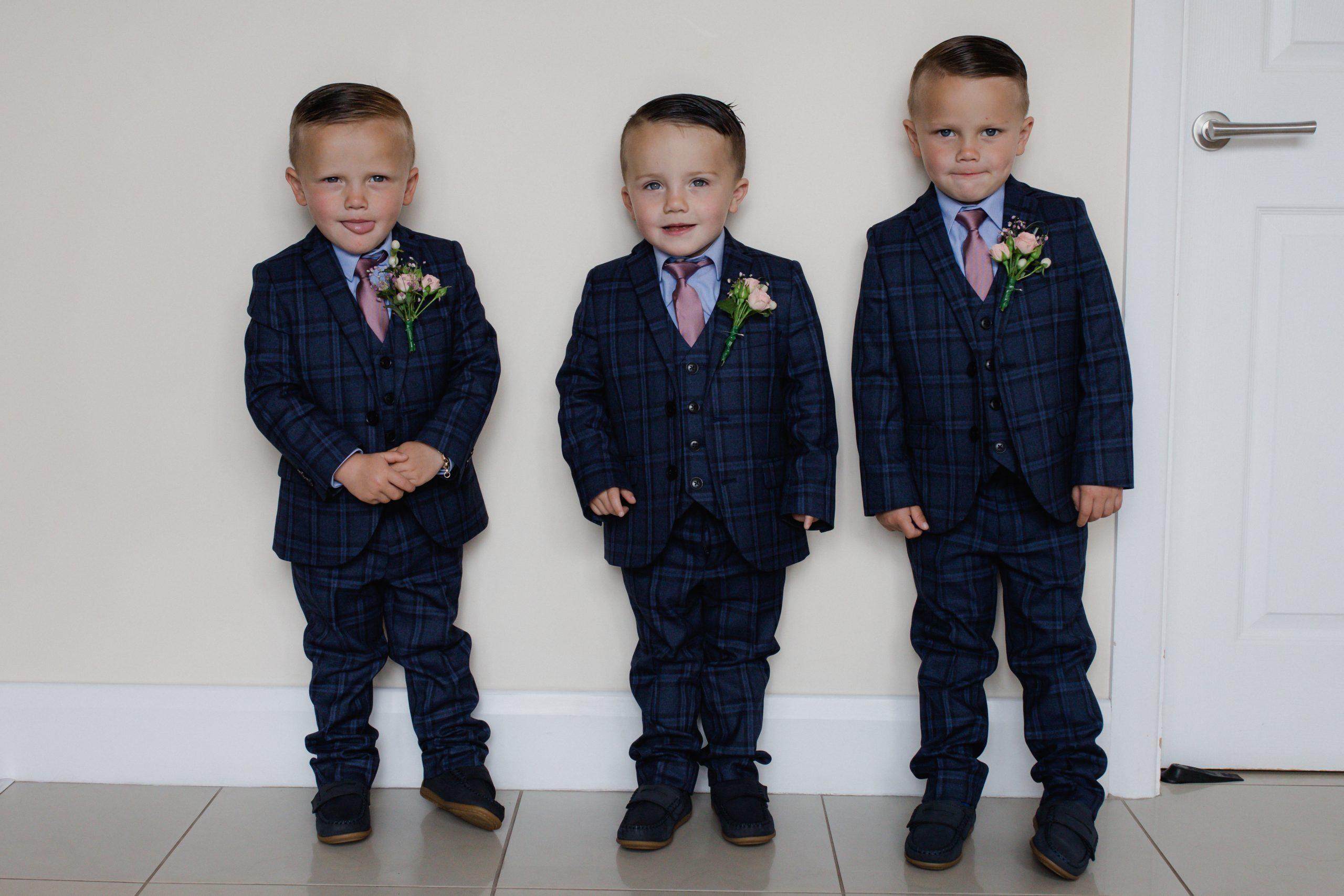 Chelsea & Harry Wedding Page Boys Emma Lowe Wedding Photography