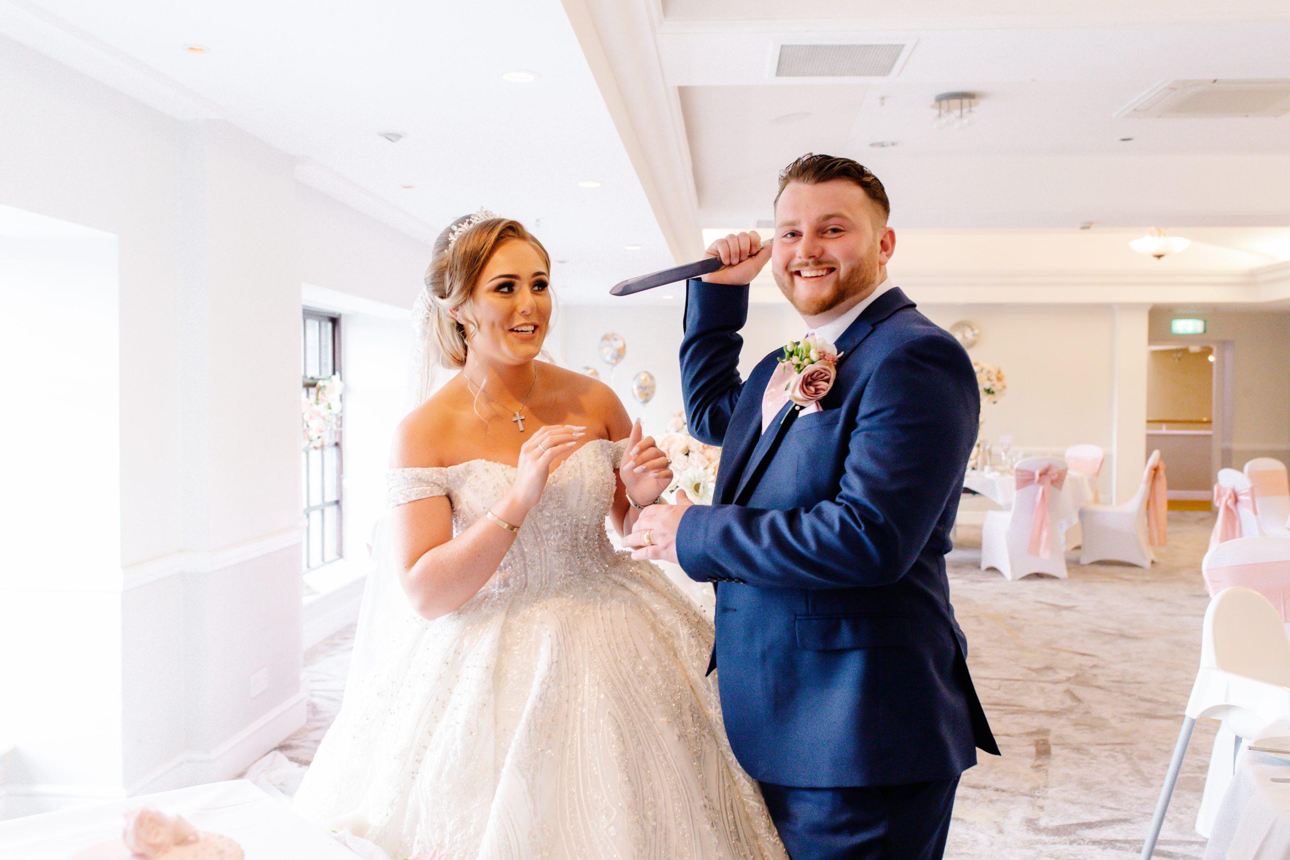 Marriott Hotel Wedding - Emma Lowe Wedding Photography 2021