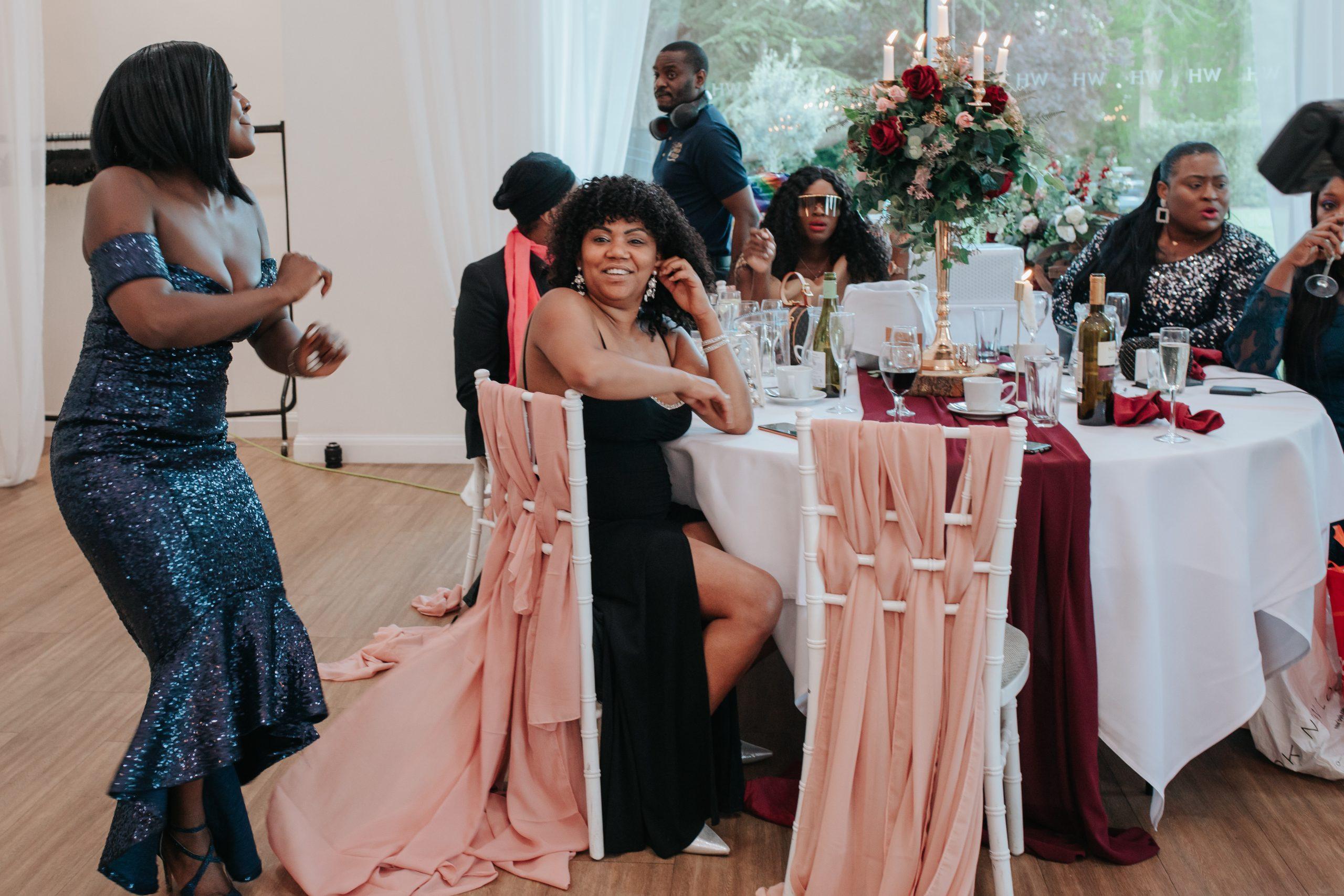 Gamu & Andii - Wedding Guests Winstanley House 2021 May - Emma Lowe Photography