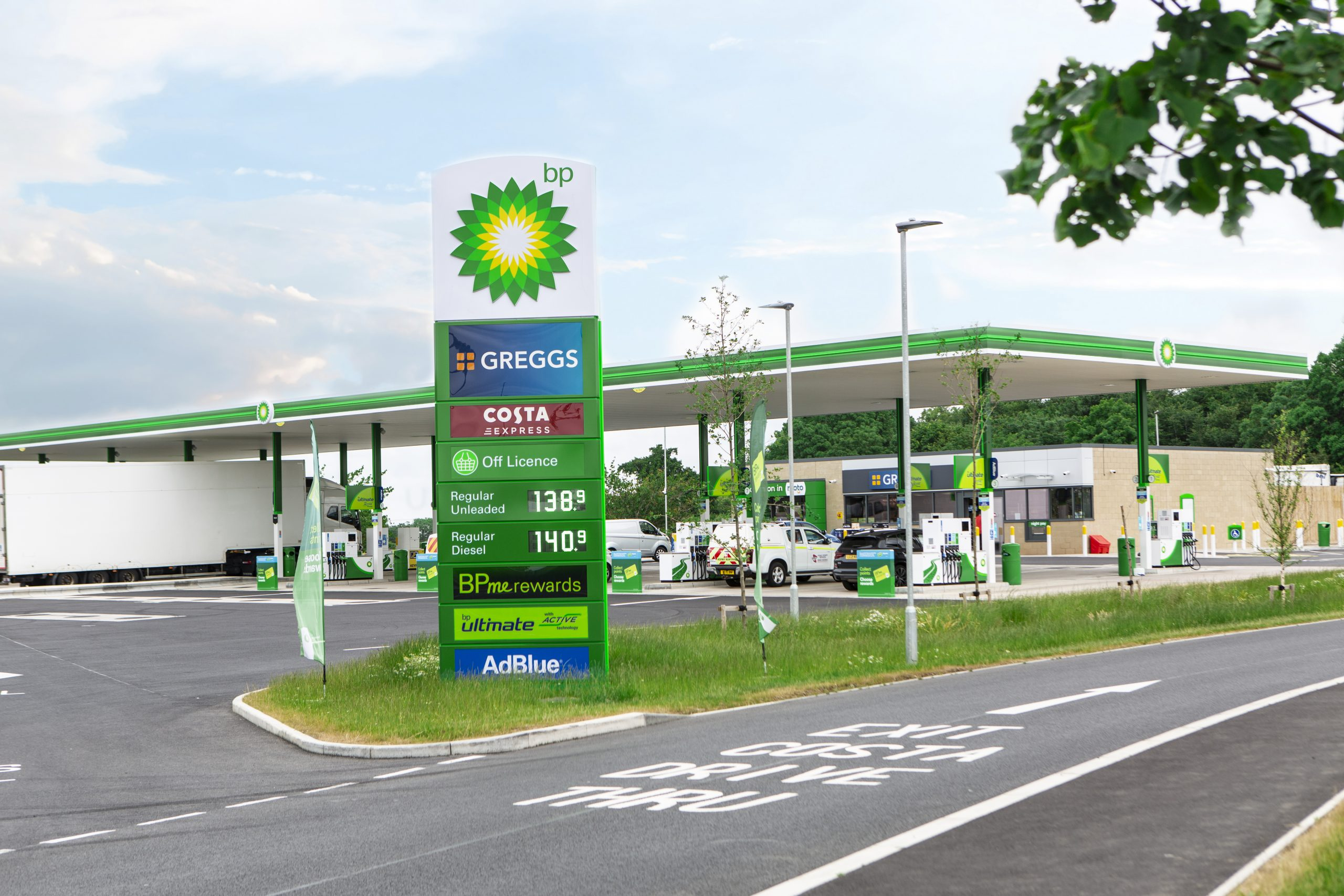 M6 Moto Services Rugby - BP Garage Emma Lowe Commercial Photography