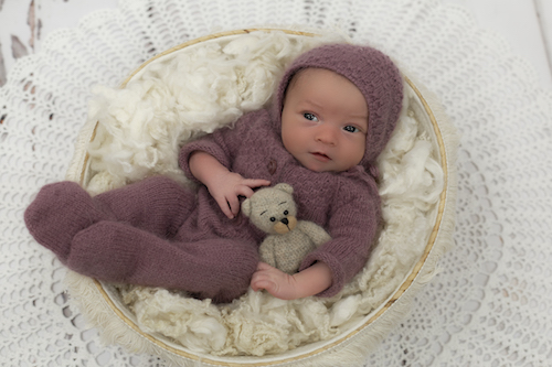 Emma Lowe Newborn Photography- Eliza Newborn Photoshoot